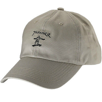 "New with Tags THRASHER Mag Mark Gonz ""Old Timer"" Skateboard Hat (Tan / Black)"