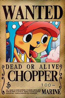 One Piece WANTED Poster (26 x 40 cm) - CHOPPER – Last Bounty!