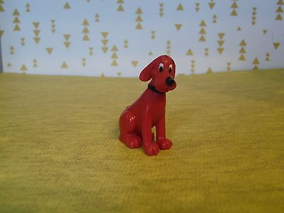 """Clifford The Big Red Dog Figure Toy 1.75"""" Tall"""