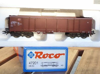 Roco 47201 open goods wagon Eaos-x the DB AG Ep.5/6 for H0, very good boxed