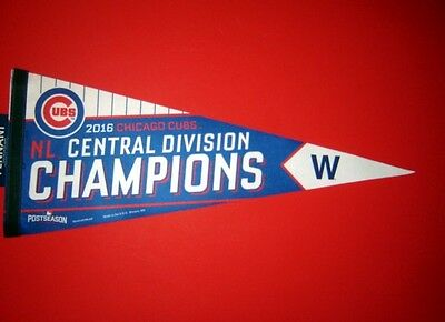 2016 Chicago Cubs MLB Central Division Champions Pennant