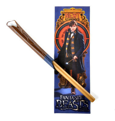 Newt Scaminder Stylo Wand & Marque-pages Fantastic Beasts et Where Trouver Les H