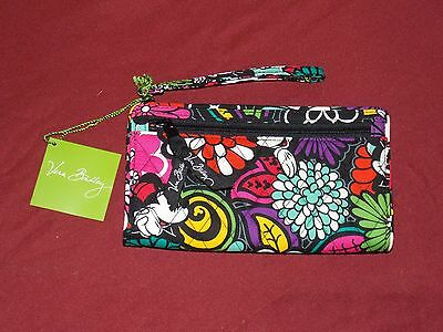 1 Disney Parks Vera Bradley Wallet Mickey Minnie Mouse Coin Purse New with Tags