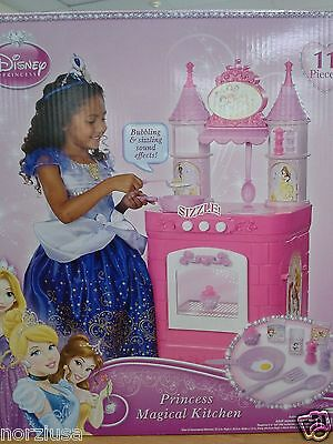 Princess Magical Play Kitchen Disney Sound Effect 11 Accessories S 3