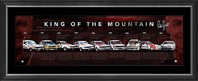 """Peter Brock """"King of the Mountain"""" Facsimile Signed and Framed Lithograph"""