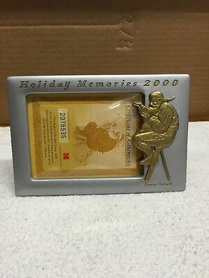 Norman Rockwell Holiday Memories 2000 Picture Frame