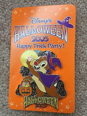 Disney Store Japan JDS Halloween 2005 Dale Happy Trick Party LE 1600 Pin