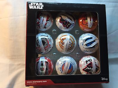 Star Wars Christmas Tree Ornaments Disney Hallmark Target Exclusive NEW Box of 9