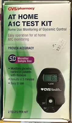 CVS PHARMACY A1C Self Check At Home A1C System Test Kit  for GLYCEMIC CONTROL