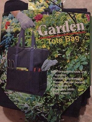 Midwest A Garden Tote Bag Carries Supplies Washable