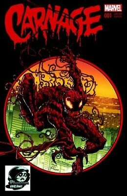 Carnage #1 (2015) Phantom Color Variant Near Mint Unread  Comic Kings