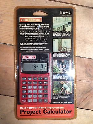 New Craftsman Home Improvement Easy Building Material Project Calculator 939749