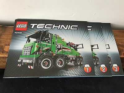 42008 LEGO Technic Truck  Instructions Only