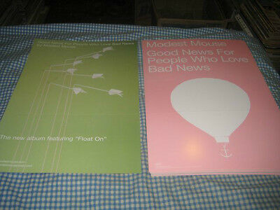 MODEST MOUSE-(good news for people who love bad news)-1 POSTER FLAT-12X18-NMINT