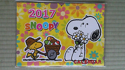 2017 Snoopy Peanuts wall calendar -- just $7 with free shipping fr Japan