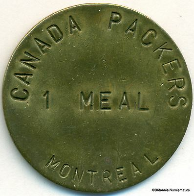 QUEBEC Montreal Canada Packers One Meal # Inv 127