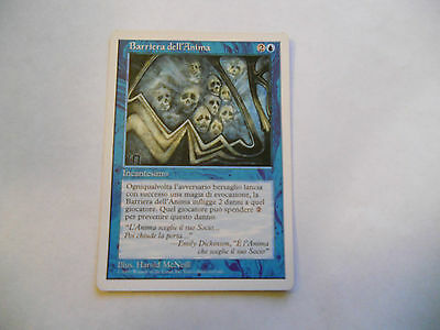 1x MTG Barriera dell'Anima-Soul Barrier Magic EDH 5th Quinta ed Base ITA x1