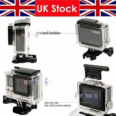 40M Diving Underwater Housing Case Waterproof Cover For Gopro Hero 3+ 4 Camera