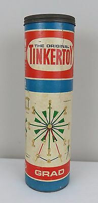 The Original Tinkertoy Grad No. 146 in the Original Canister