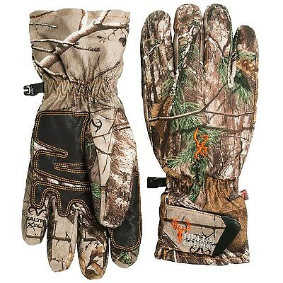 New Men`s Browning Hell's Canyon PrimaLoft Pre-Vent Gloves
