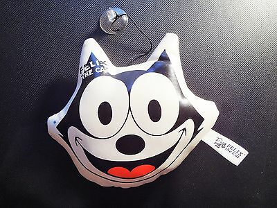 Felix The Cat Window Hanger White Black & Red 7.25 x 5.75 x 2 Inch Face Of Felix