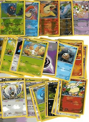POKEMON CARD LOT #8 ( x 5 FOIL AND 30 BASE CARDS )
