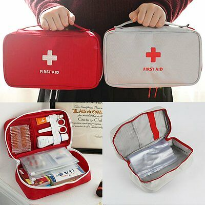 Emergency Survival First Aid Kit Treatment Pack Rescue Medical Large Bag Pouch
