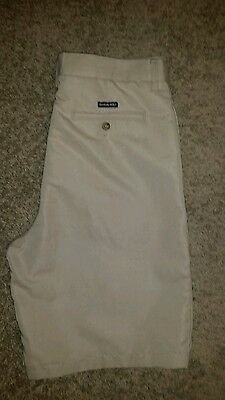 Chaps Golf Shorts Flat Front Size 34 Free Shipping