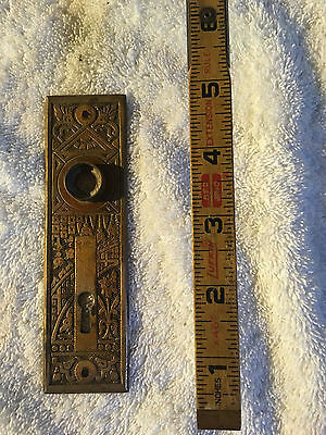No. 43 Antique Victorian Door Plate Solid Brass