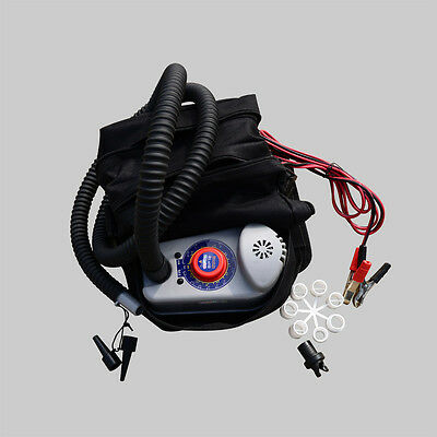 BRAVO 12V BP12 Electric Pumps For Inflatable Boats SUP Boards Kayak Tents Kites