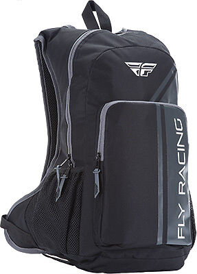 Fly Racing Jump Backpack Black/Grey -Off Road/Snowmobile/ATV/XC/MX