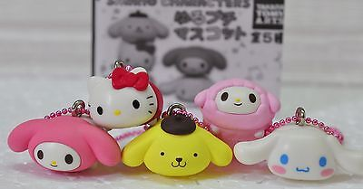 100% AUTH!  JAPAN Takaratomy x Sanrio Hello Kitty stars Mascot / Keychain set