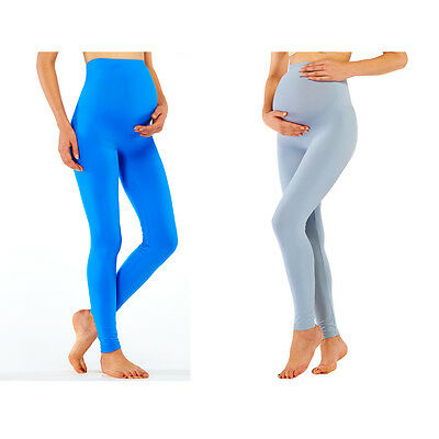 New Maternity Seamless Leggings Pregnancy Pants Hi-waist Belly Support Underwear
