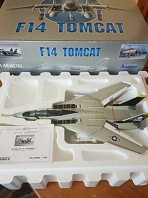franklin mint armour f-14 tomcat jolly rodgers 1:48
