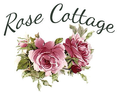 RoSe CoTTaGe SiGN ShaBby WaTerSLiDe DeCALs ~FuRniTuRe SizE~