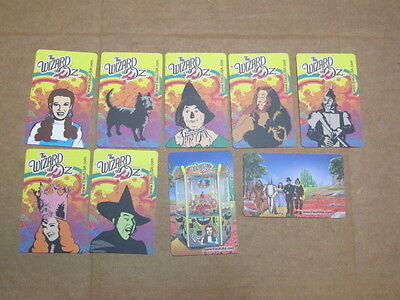 Wizard of Oz Cards - ELAUT - Set of 9  - Includes TOTO - FREE SHIPPING