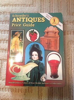 2001 Schroeders' Antiques Identification and Price Guide Collectors' Book