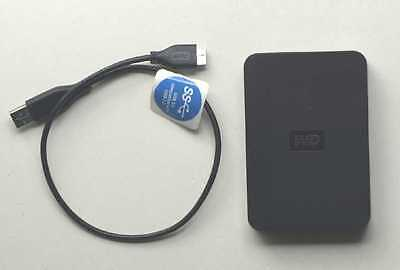 Western Digital WD 750 GB Portable Hard Drive USB 3.0