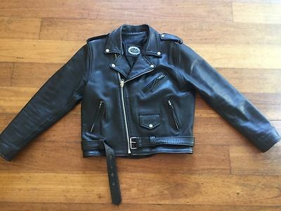 Stagg Leather Motorcycle Jacket  - Size L