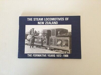 The Steam Locomotives of New Zealand FormativeYears 1872 - 1908