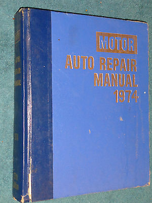 1968-1974 Chevy Ford Olds Cadillac & More Shop Manual Camaro Firebird Mustang