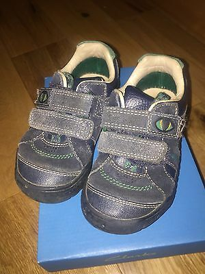 Clarks Boys Stompo Shoes Size 8f