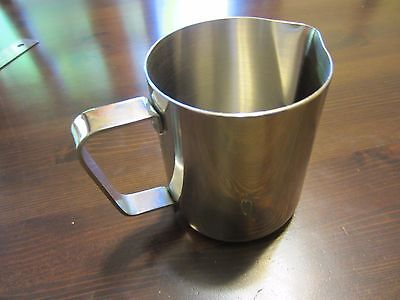 ESPRESSO Coffe Steam MILK FROTHING/Steaming STAINLESS STEEL PITCHER Jug Cup