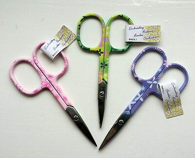 Groves B4814.1 Floral Design Embroidery sewing Scissors 9.5cm