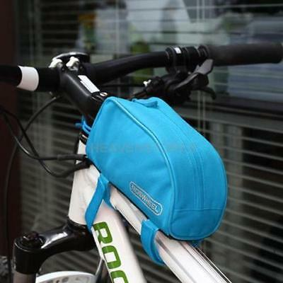 ROSWHEEL Cycling Bike Outdoor Sports Bicycle Frame Pannier Front Tube Bag