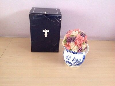 Atlas Collection  Flower.  Ceramic.  NEW & BOXED