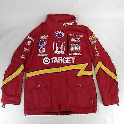 Medium Sparco Indy Racing Car Jacket Italy 1996 PPG Cup Champions Poliamide