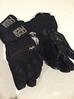Done Neon Snow Gloves Size Small