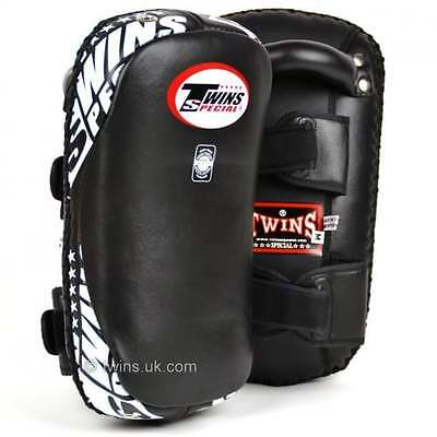 Twins Special Deluxe Curved Thai Kick Pads Muay Thai Boxing