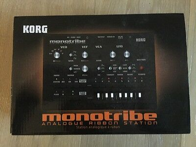Korg Monotribe Analogue Ribbon Station Synthesizer Sequencer